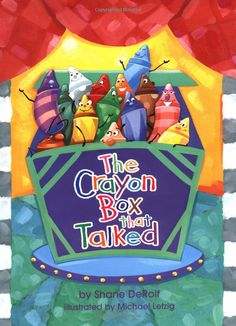 Amazon.com: The Crayon Box that Talked (9780679886112):  Awesome book about loving yourself and accepting differences in others!