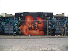 "Street Art By ArtFlyMovie: ""EL MAC"": Miles MACGREGOR - Amazingly Realistic Street ART"
