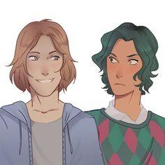 Magnus and Alex 💙