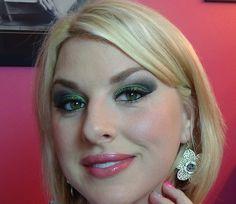 Emerald eyes, tutorial, makeup, beauty, eyeshadow, smokey eye