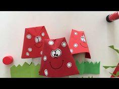 krokotak   Toilet paper roll mushroom craft