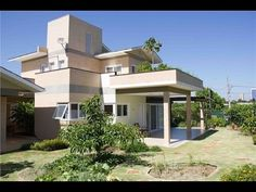 lindas casas construida com  tijolos ecologicos