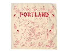 Maptote | Portland Bandana - Natural