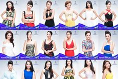Miss World Vietnam 2016 finalists unveiled