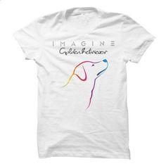 Golden Retriever - Imagine - custom tshirts #hoodie #clothing