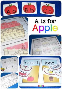 A is for Apple activ