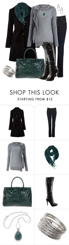 """""""December Night Out"""" by averbeek ❤ liked on Polyvore featuring Izabel London, Witchery, Marella, Love Quotes Scarves, Carlo Pazolini, Bakers and Wallis"""
