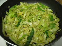 Indian Cabbage - Low Carb - The ingredients in this are amazing together.