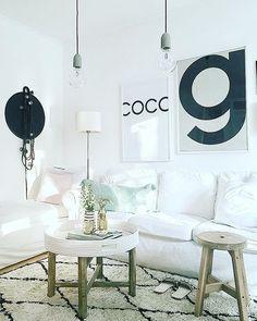 """Gefällt 1,514 Mal, 12 Kommentare - Westwing (@westwingde) auf Instagram: """"Angesagte schwarz-weiß Prints an den Wänden sorgen für einen coolen Look im Wohnzimmer. @house_no_8…"""""""