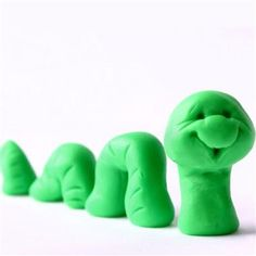 For kids ages 3-12. Smoosh it! Make people... create a town... write your name in Rainbow Dough letters! #craft #diy