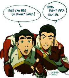 sup. oh wait, excuse my manners. ITS MAKO AND BOLIN EEK. :D