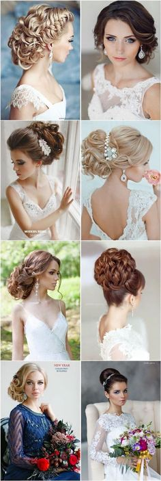 Coiffure mariage : 25 Most Beautiful Updo Wedding Hairstyles to Inspire You wedding hairstyles photo 2019 - wedding Photo Wedding Hair And Makeup, Wedding Updo, Bridal Hair, Prom Updo, Elegant Wedding, Formal Hairstyles, Bride Hairstyles, Flower Hairstyles, Elegant Hairstyles