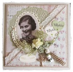 Hobby farm's blog: A little girlish nostalgic cards.