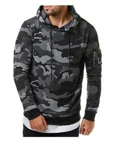 QINGYU 2017 New Mens Hoodies and Sweatshirts Hooded Sweatshirts Male Fashion Military Hoody For Men Camouflage Hoodies 3XL