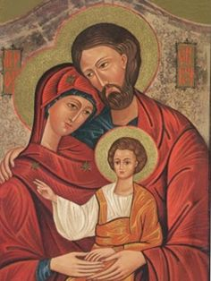 Sagrada Familia, ejemplo de amor, respeto y paciencia. Ruego a DIOS por las familias del mundo entero. Sagrada Familia ,os encomiendo a mi familia para que conserven y aumenten cada día su fe, esperanza y caridad.