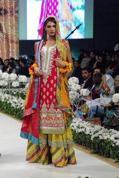 Kosain Kazmi Collection at Pantene Bridal Couture Week 2011 - Day 1