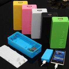 no battery) diy power bank box with circuit board led  no battery) power bank diy box case