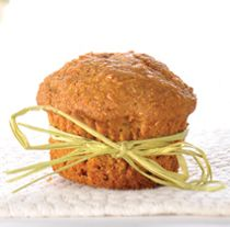 Carrot Cake Agave Muffins - Delicious muffins made with agave nectar, wheat flour and chock-full of carrots!