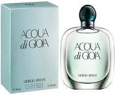 Aqua di Gioia - one of my favs....