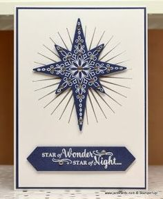 2016 JanB Handmade Cards Atelier: Star of Light USING THE Star Of Light