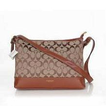 Look Here! Coach Convertible Hippie In Signature Medium Brown Crossbody Bags AYY Outlet Online Coach Handbags Outlet, Fall Handbags, Coach Outlet, Fashion Handbags, Coach Bags 2014, Cheap Coach Bags, Designer Handbags On Sale, Designer Bags, Brown Crossbody Bag