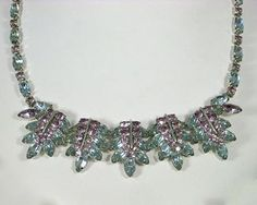 Vintage Sherman Alexandrite & Amethyst Purple Necklace from The Vintage Jewelry Boutique Lane on Ruby Lane