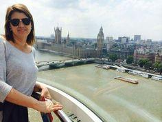 Londres  - Inglaterra  2014 A London Eye também conhecida como Millennium Wheel.Tem um visual bacana.