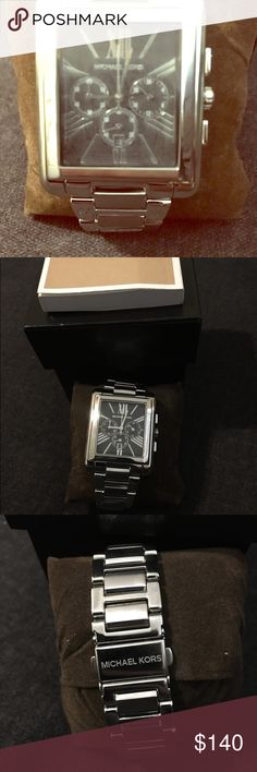 828640f372eb Michael Kors mens watch Authentic NWOT MK watch. Comes with original box.  Husband never