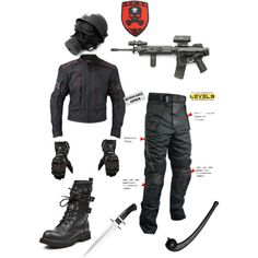 """Zombie Hunter Outfit"" by michael-cavender on Polyvore"