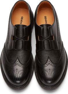 08Sircus Black Leather Brogues