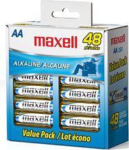 48-Pack Maxell AA Cell Alkaline Batteries $9.50 Shipped | My Shopper Savings Deals http://deals.myshoppersavings.com/48-pack-maxell-aa-cell-alkaline-batteries-9-50-shipped/