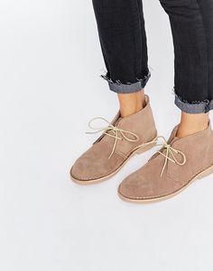 Park Lane Suede Desert Boots
