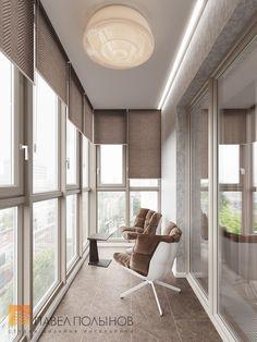 Фото: Лоджия - Интерьер квартиры в стиле минимализм, ЖК «Классика», 130 кв.м.