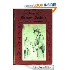 The Story of Doctor Dolittle by Hugh Lofting. In this first book in the series, Doctor Dolittle discovers that he can talk to the animals--Jip the dog, Dab Dab the duck, Polynesia the parrot.