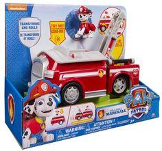 ¡Oferta! Marshall y camión bombero con sonidos de la Patrulla Canina por sólo 29,37 euros.