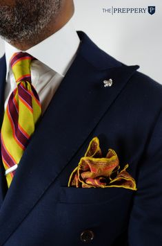 Double Breasted Suit | The Preppery #CustomClothing #CustomMenswear