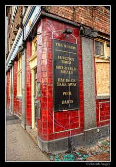 The Old Albion Pub, Armley Road. Currently being converted into offices. Leeds Pubs, Leeds City, British Pub, Great British, Old Pictures, Old Photos, Old Pub, Industrial Architecture, Brickwork