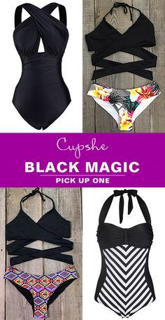 Black Magic is here! Want to join the beach party in perfect outfits? Cupshe.com will say yes to your dreaming style.Inspire beauty and confidence here!