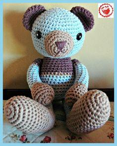 Free Crochet pattern Teddy Bear - Meet TED!