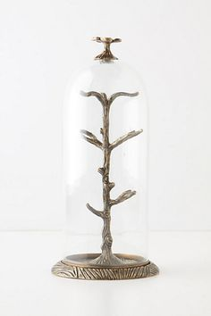 Cloche Jewelry Holder #anthropologie If only I had jewelry that would dignify this...