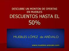 #muebles #descuentos #ofertas_muebles http://www.muebles-arevalo.com/