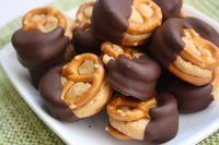 """A perfect little mini dessert for a party- add a banana slice to """"Elvis"""" it up"""