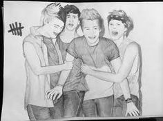 Image result for 5sos drawings