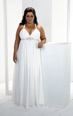 Plus Size Wedding Dresses to Feel Like a Princess Plus Size Brides Beautiful plus size curves don't fit in a size zero Plus Size Brides, Plus Size Wedding Gowns, Sexy Wedding Dresses, Casual Wedding, Wedding Beach, Trendy Wedding, Wedding Reception, Maternity Wedding, Wedding Dressses