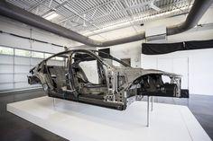 Karbonová kostra nového BMW řady 7