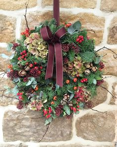 Bon We Have A Lovely Range Of Handmade Luxury Door Wreaths In Stock Now. You Can