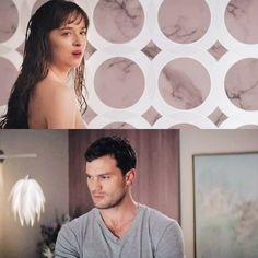"""Did you sleep with her"" #FiftyShadesFreed"