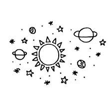 Image result for tumblr space drawing