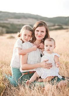 Beautiful light ... I love the children anchored to Mum.