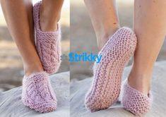 Уютные домашние тапочки от Drops Design вязаные спицами Drops Design, Knit Fashion, Loom Knitting, Baby Booties, Leg Warmers, Fingerless Gloves, Slippers, Booty, Shoes
